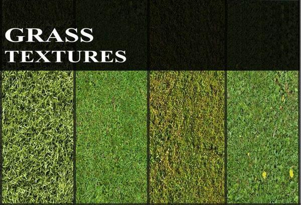 6 High Resolution Tileable Green Grass Textures