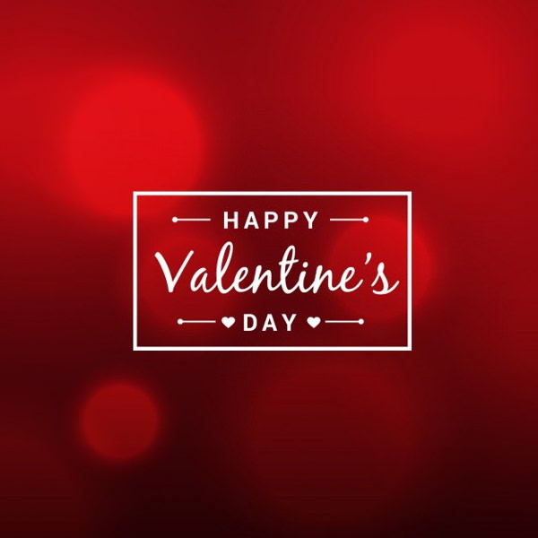 Abstract Beautiful Valentines Day Background
