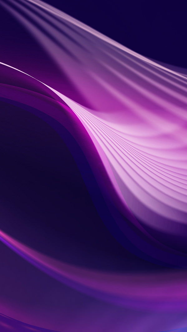 Abstract Purple Wave Background For iPhone