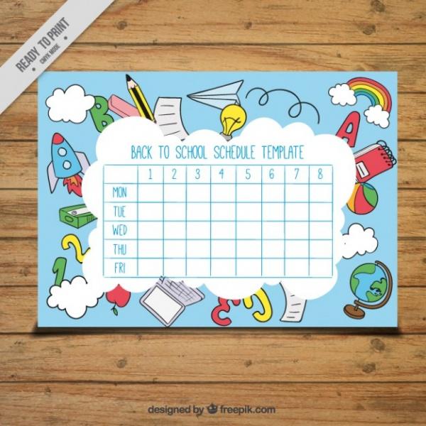 Amazing Calendar for School