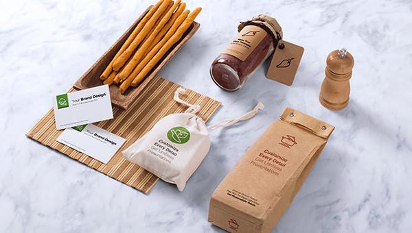 Free 4 Photorealistic Food Box Mockups In Psd Indesign Ai