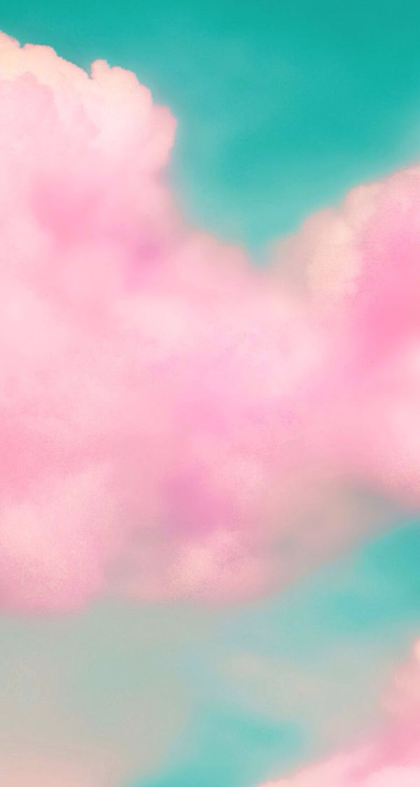 Amazing Pink Clouds iPhone Background For Free