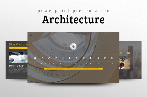 Architecture Safety PPT Template