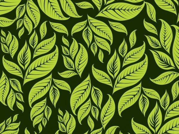 Awesome Leaves Pattern For Download