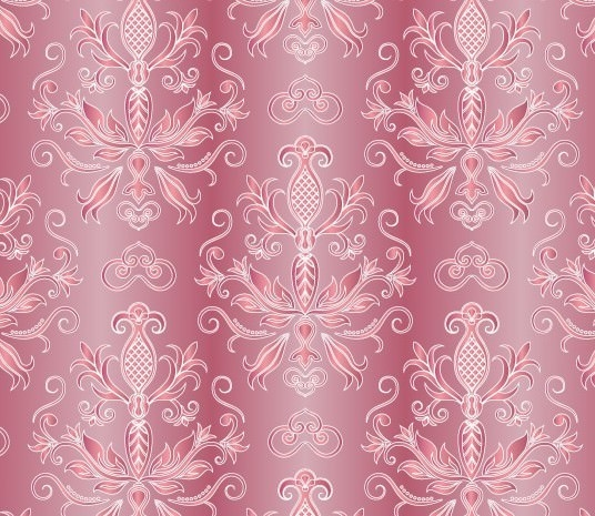 Awesome Pink Floral Vintage Background used in Graphic Design