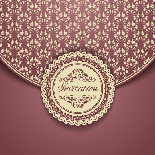 Awesome Vintage Ornate Floral Background