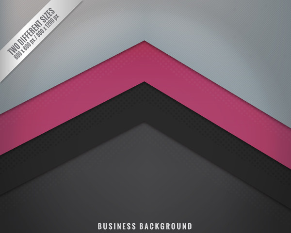 Black and Grey Pink Business Background Free Vector