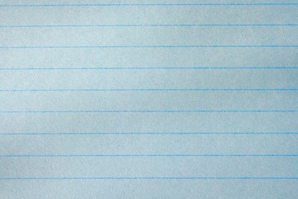 blue notebook paper texture