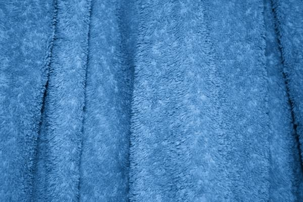 Blue Terry Cloth Bath Towel Texture