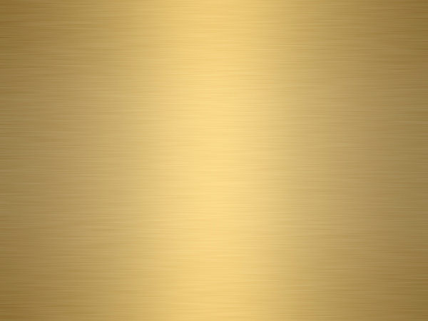 Brushed Metal Gold Texture