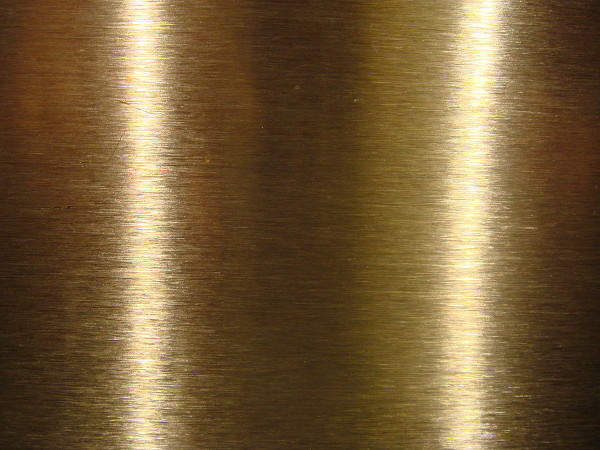 Brushed Stainless Metal Texture with Light Effect