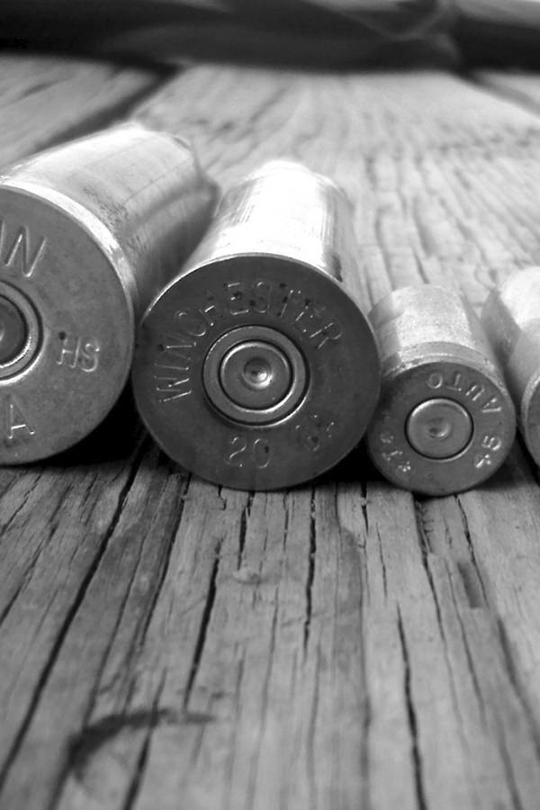 Bullets iPhone 4s Background Free Download