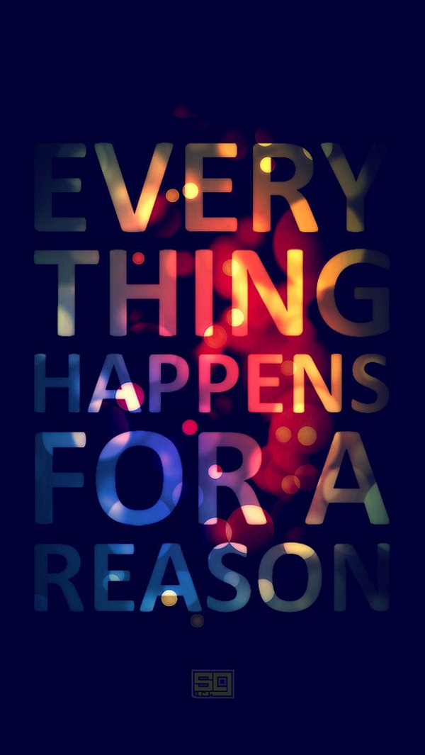 colorful text design iphone 5s background