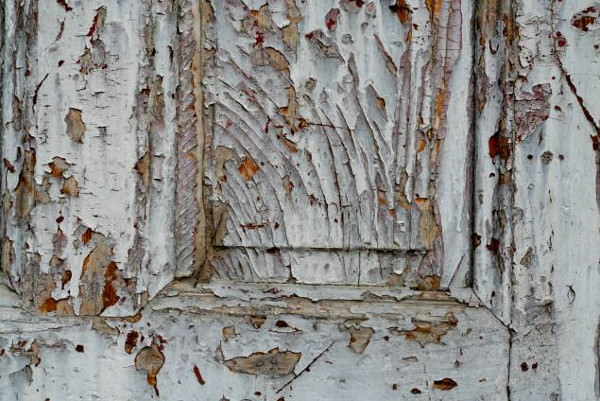 Cracked Paint Peeling Grunge Wood Texture