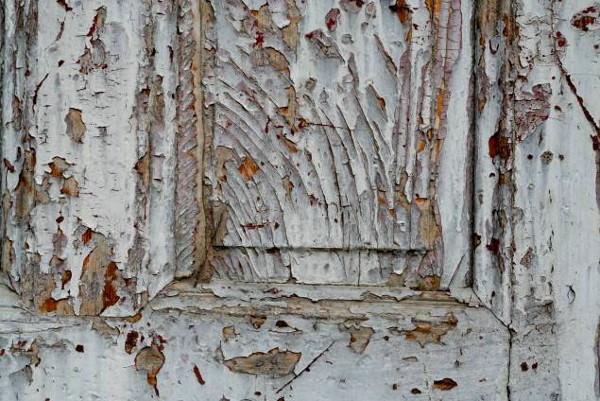 Cracked Paint Peeling Grunge Wood Texture