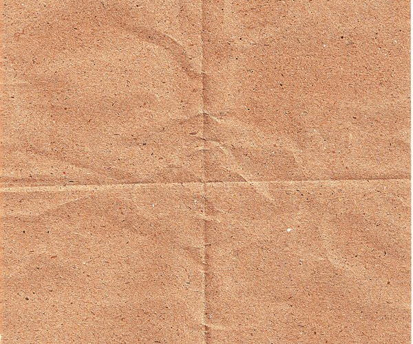 Creased Folded brown Paper Texture