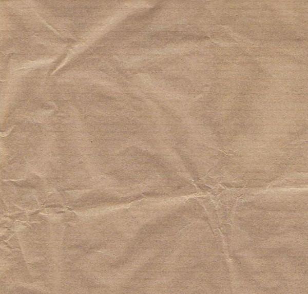 Crinkled Kraft Paper Texture