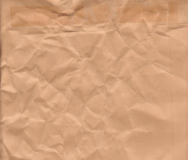 Crumpled Envelope Paper Texture