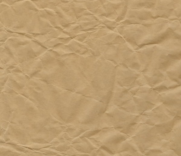 Crumpled Kraft Paper Texture