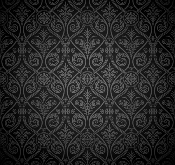 Dark Grey and Black Vector Background