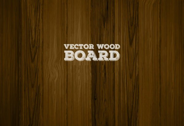 Dark Vector Wooden Board