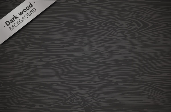 Dark Wood Texture Background Free Vector