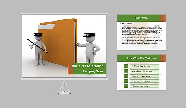 Data Safety Presentation Template
