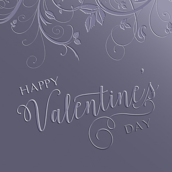 Decorative Happy Valentine's Day Background