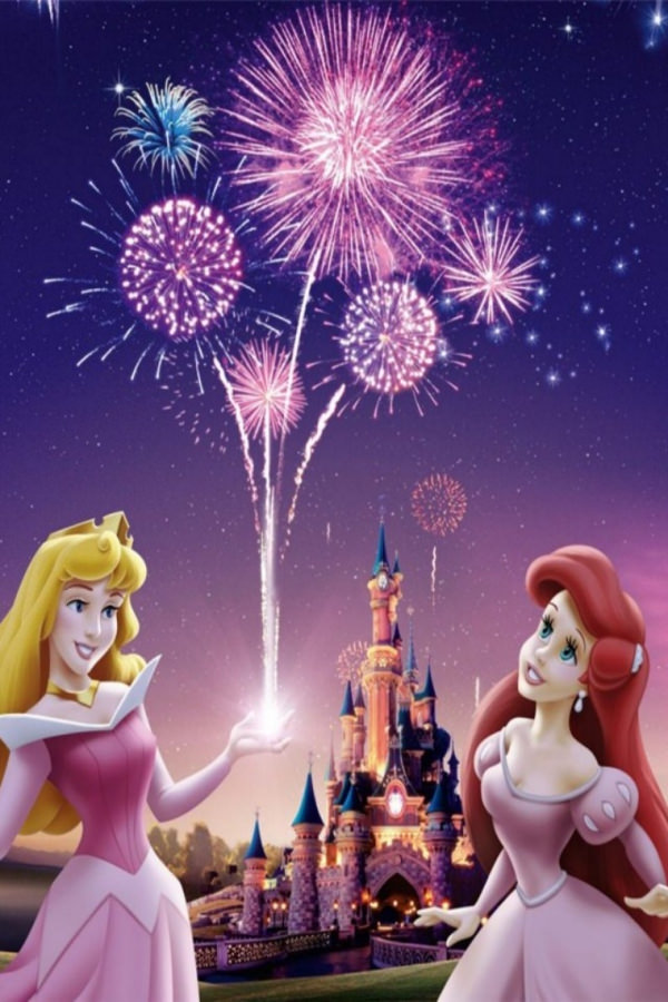 Disney Princess Background For iPhone 4S