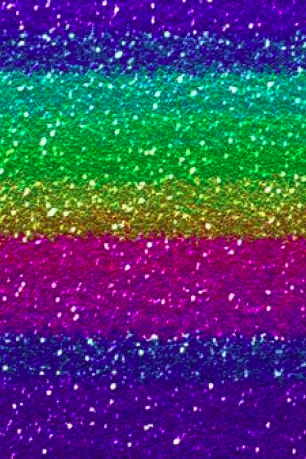 Download Glitter Rainbow iPhone Background