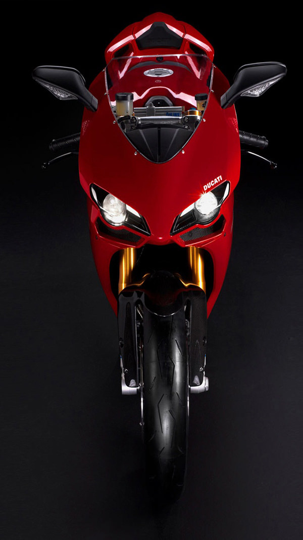 Ducati Bike Red iPhone 6 Plus HD Background