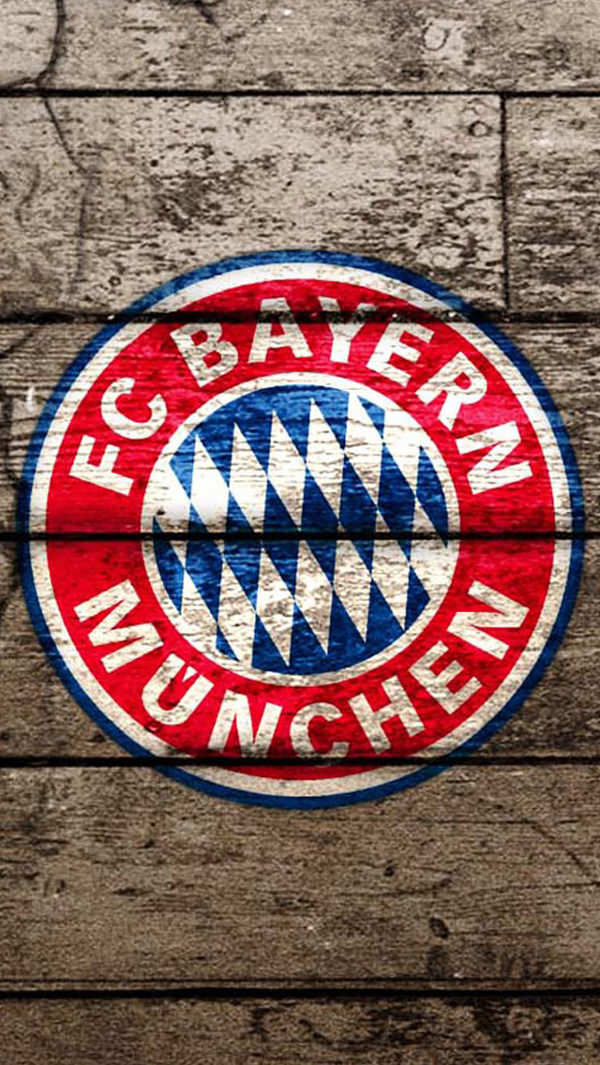 FC Bayern Munich iPhone 5s Wood Background