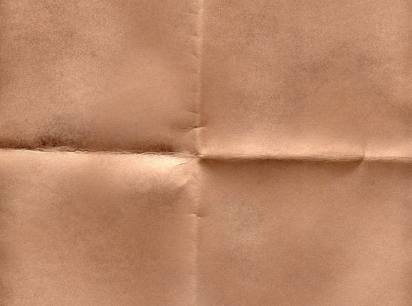 Folded Brown Paper Texture