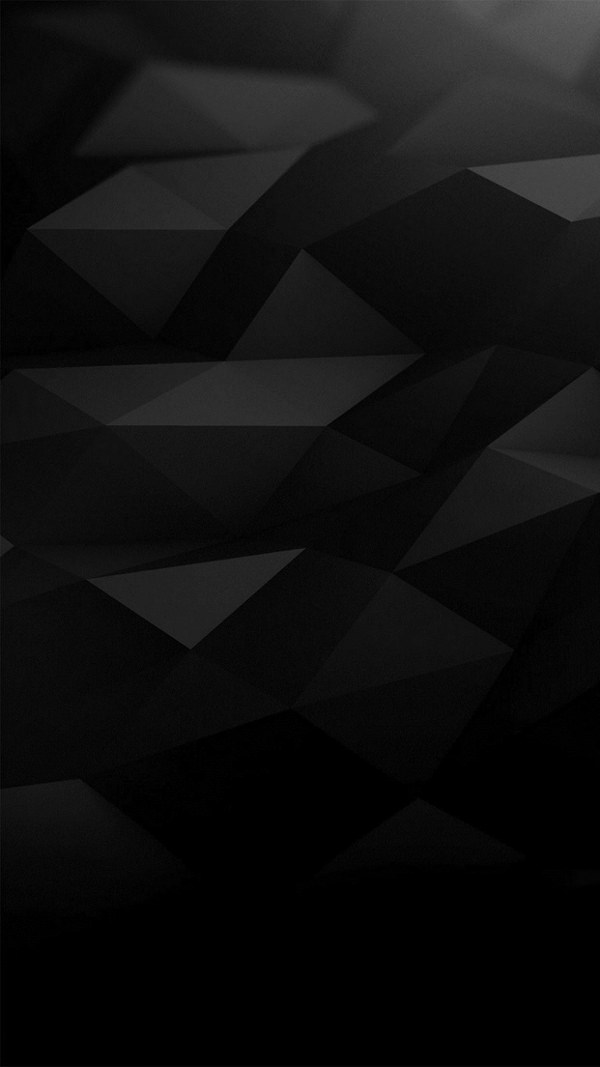 Free Black Polygonal Iphone Background