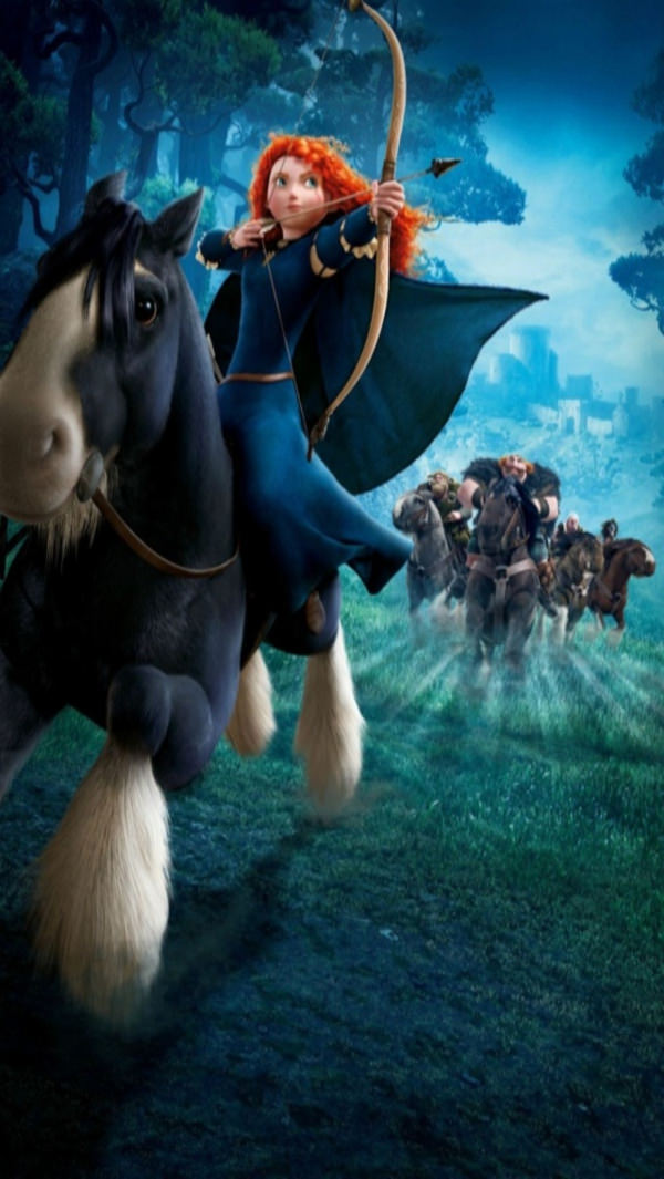 Free Brave Disney iPhone 4 Background