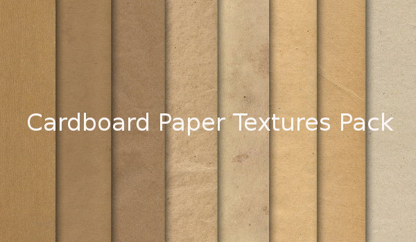 Free Cardboard paper textures pack