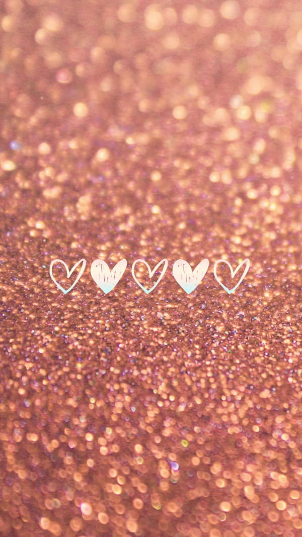 free glitter pink iphone background