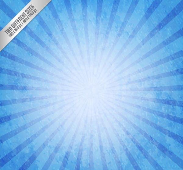 Free Grunge Sunburst Background