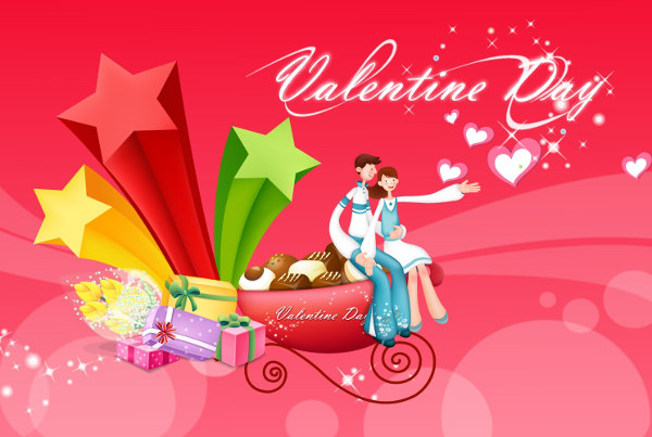 Free Happy Valentine Day Wallpaper