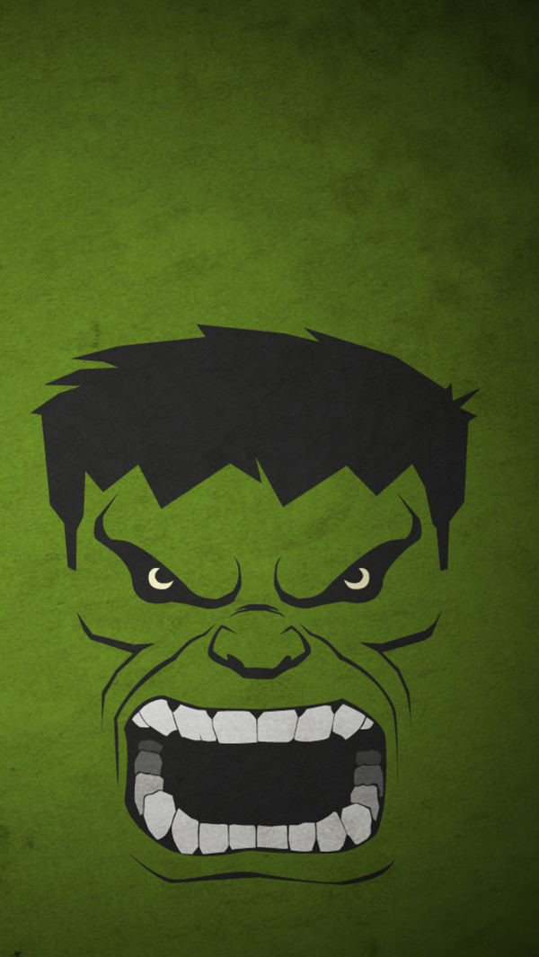 free hulk iphone background for you