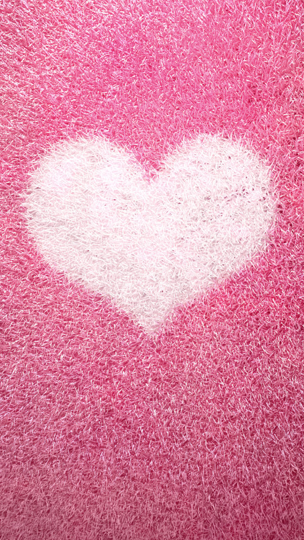 Free Pink Love iPhone 5 Background Download