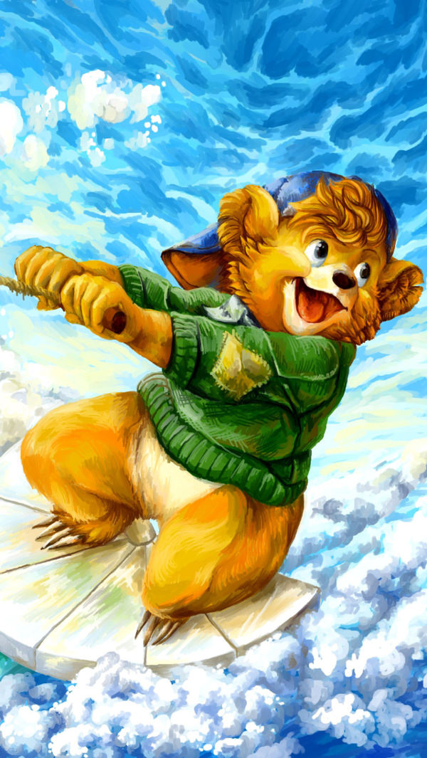 Free Talespin Background for iPhone 5