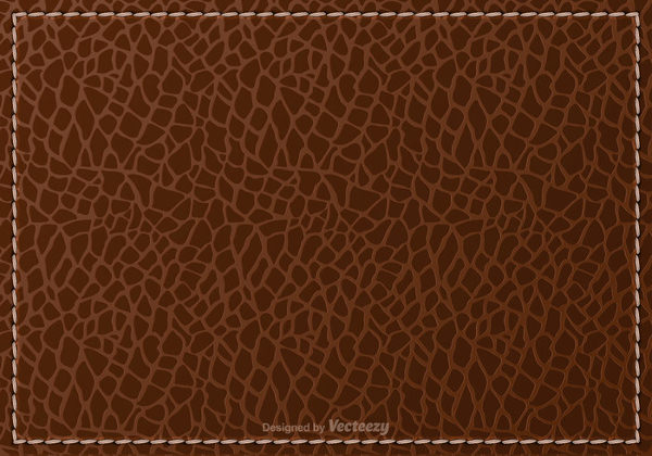 Free Vector Brown Leather Background Texture