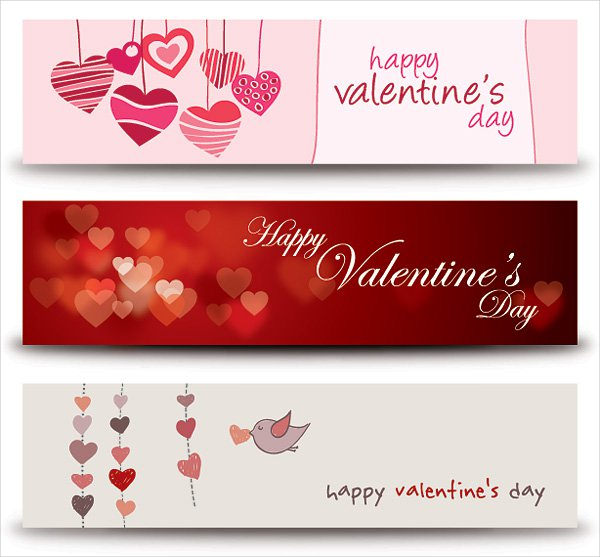 Free Vector Graphic Valentines Day Banner