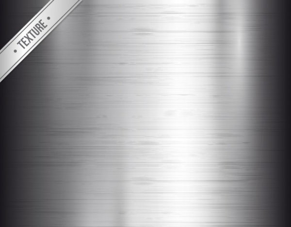 Free Vector Shiny Silver Metal Texture