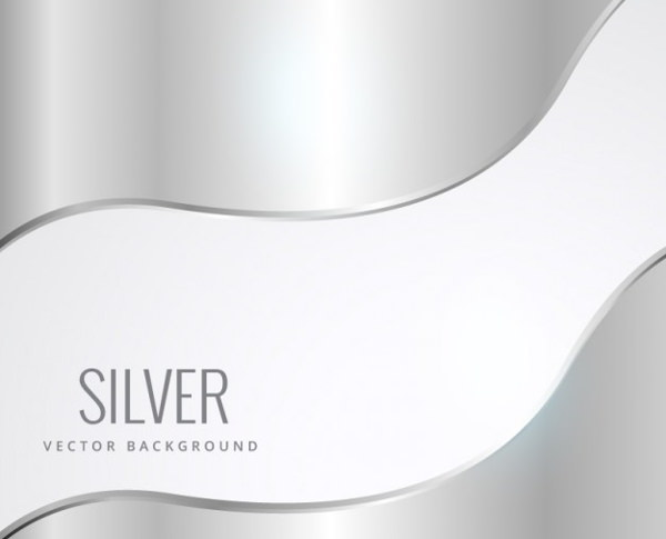 Free Vector Silver Background Texture