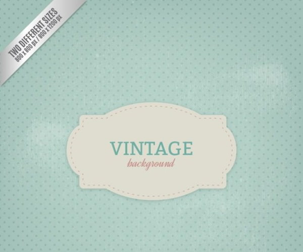Free Vector Vintage Background