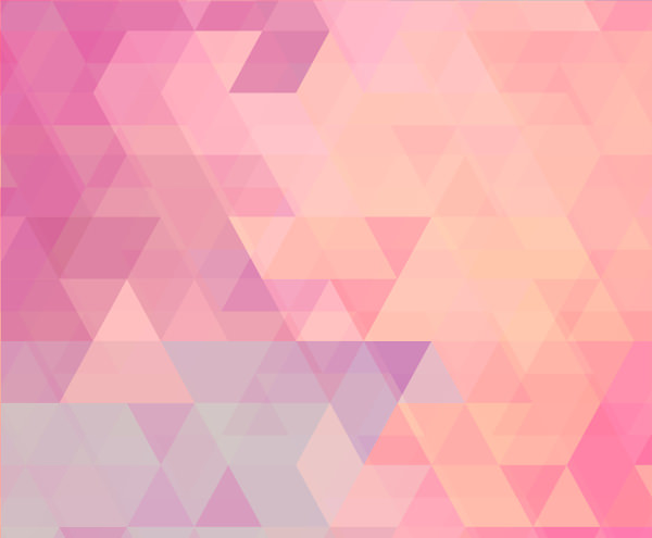 Free Vector Vintage Effect Pink Polygonal Background
