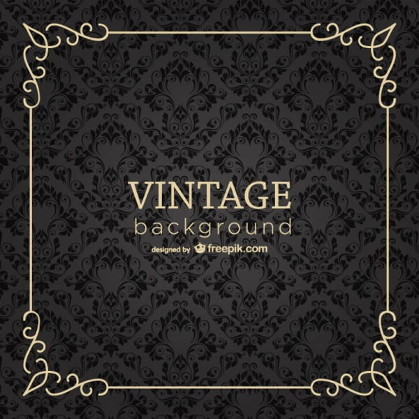 Free Vector Vintage Frame Background