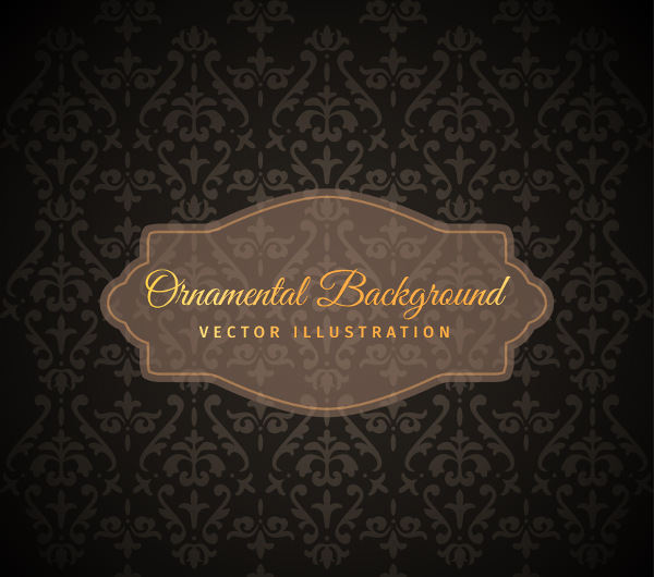 Free Vector Vintage Ornamental Background